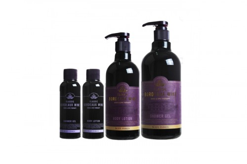 BODY PHREN CLASSIC BORDEAUX WINE BODY CARE SET