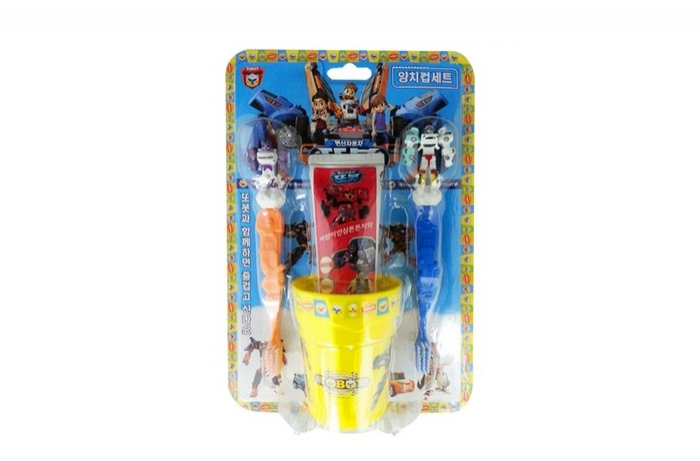 TOBOT brushing teeth cup SETTOBOT