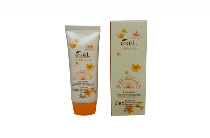 ekel UV sun block