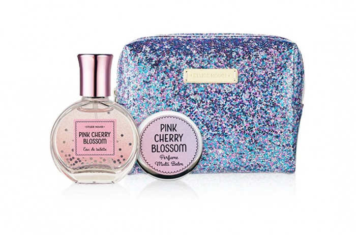 ETUDE HOUSE Pink Cherry Blossom Pouch SetETUDE HOUSE