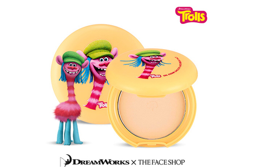 The Face Shop - Trolls Edition Oil Clear Smooth and Bright PactOwn label brand