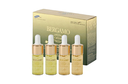 BERGAMO BERGAMO LUXURY CAVIAR WRINKLE CARE AMPOULE 4SETOwn label brand